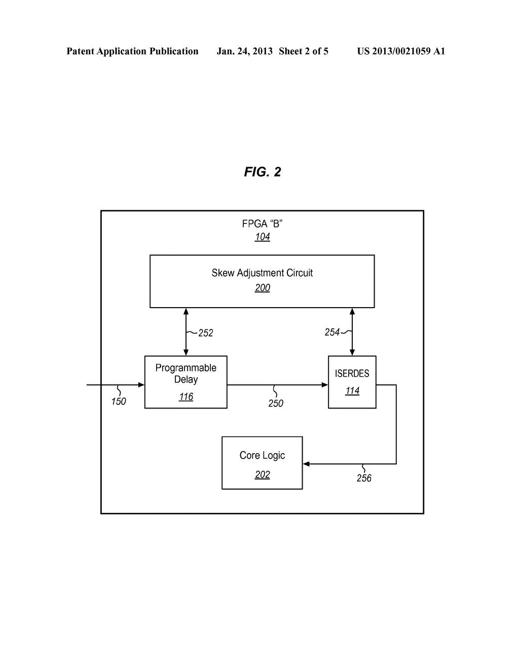 METHODS AND STRUCTURE FOR SOURCE SYNCHRONOUS CIRCUIT IN A SYSTEM     SYNCHRONOUS PLATFORM - diagram, schematic, and image 03