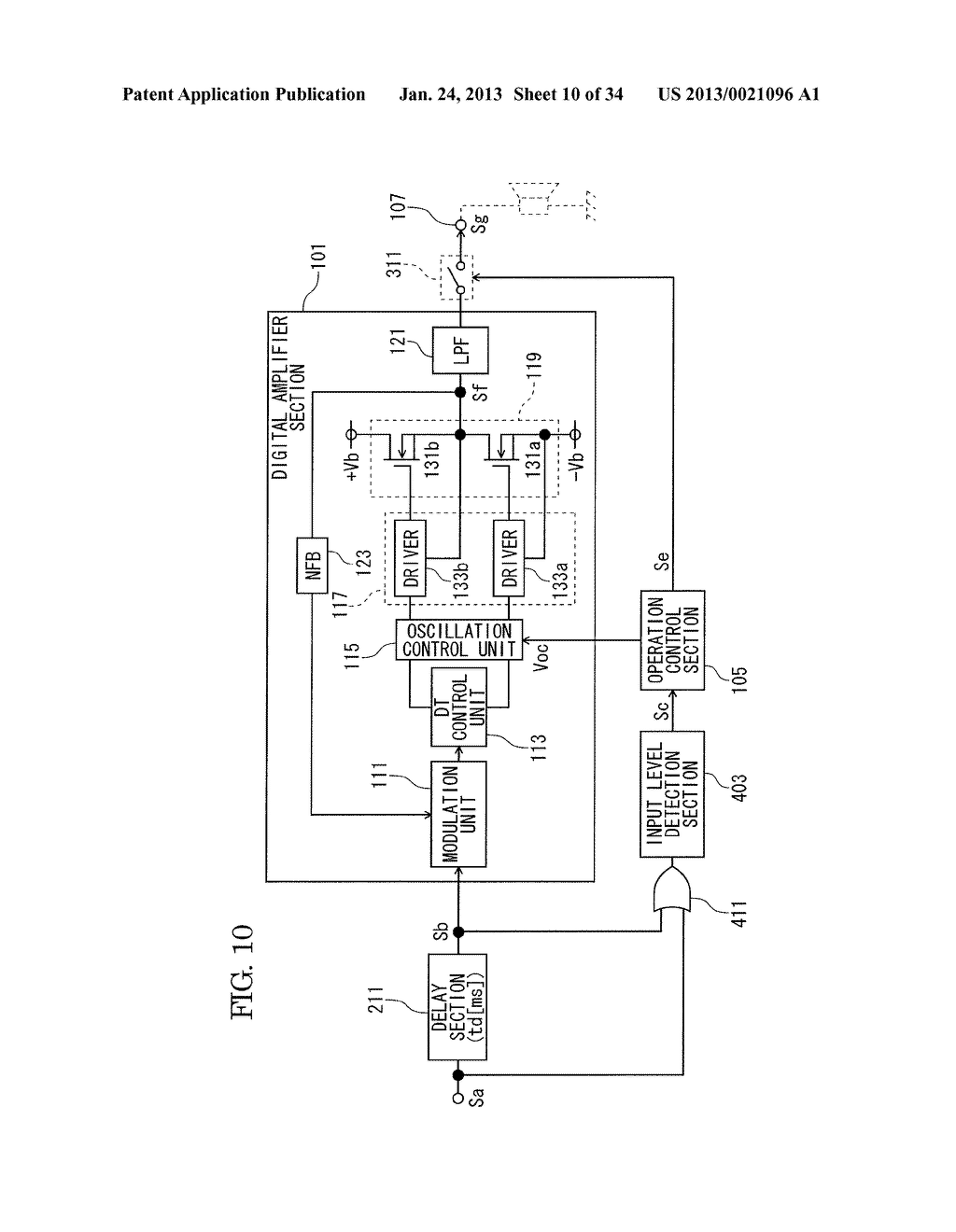 DIGITAL AMPLIFIER - diagram, schematic, and image 11