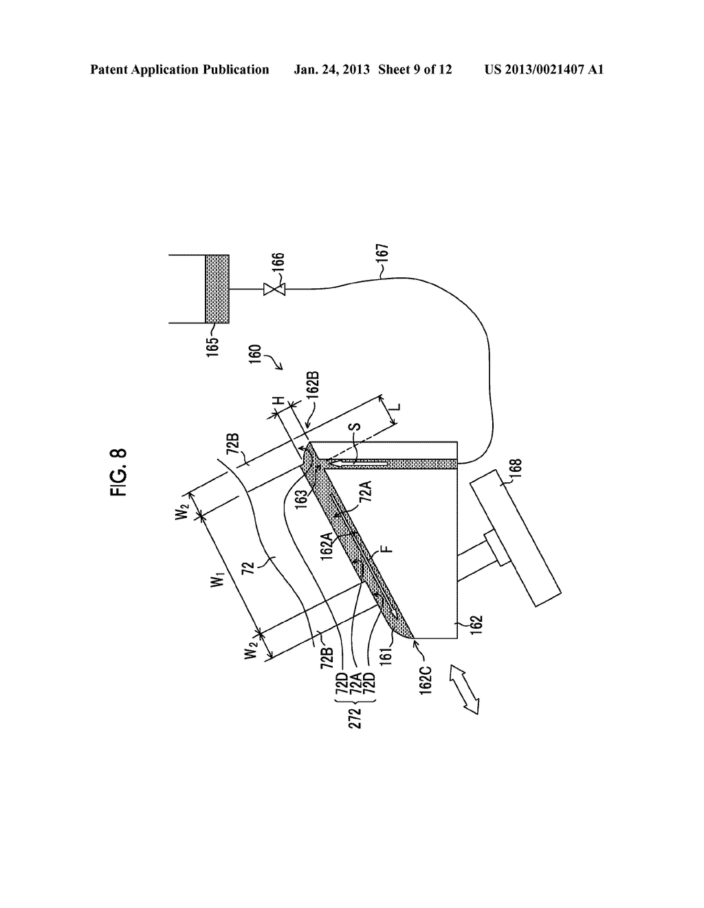 NOZZLE SURFACE CLEANING DEVICE AND LIQUID DROPLET EJECTING APPARATUS - diagram, schematic, and image 10