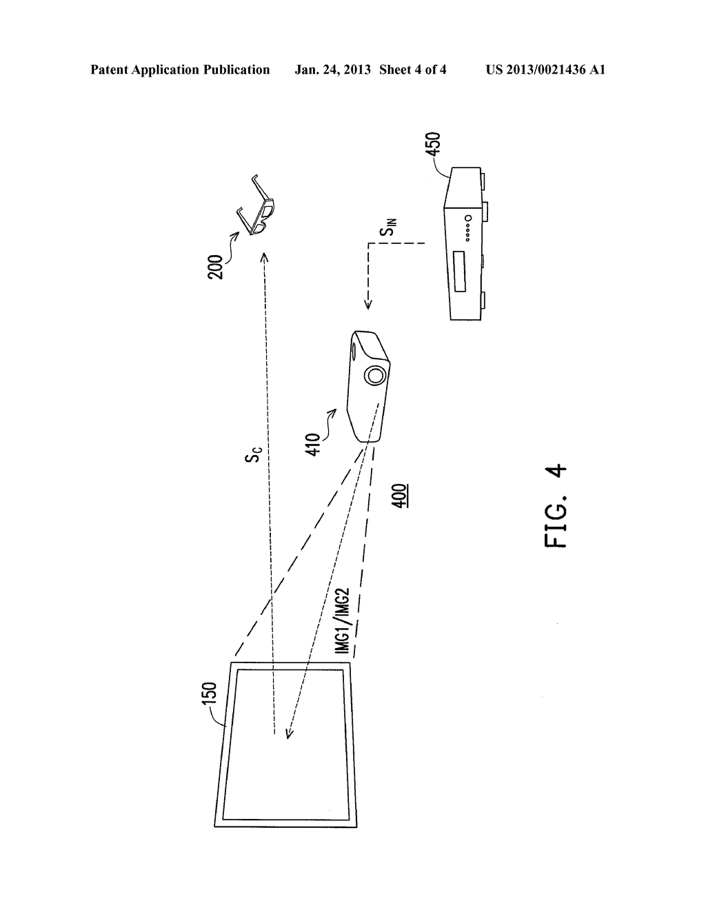 DECODER, PROJECTING SYSTEM, AND IMAGE PROCESSING METHOD OF THE PROJECTING     SYSTEM - diagram, schematic, and image 05
