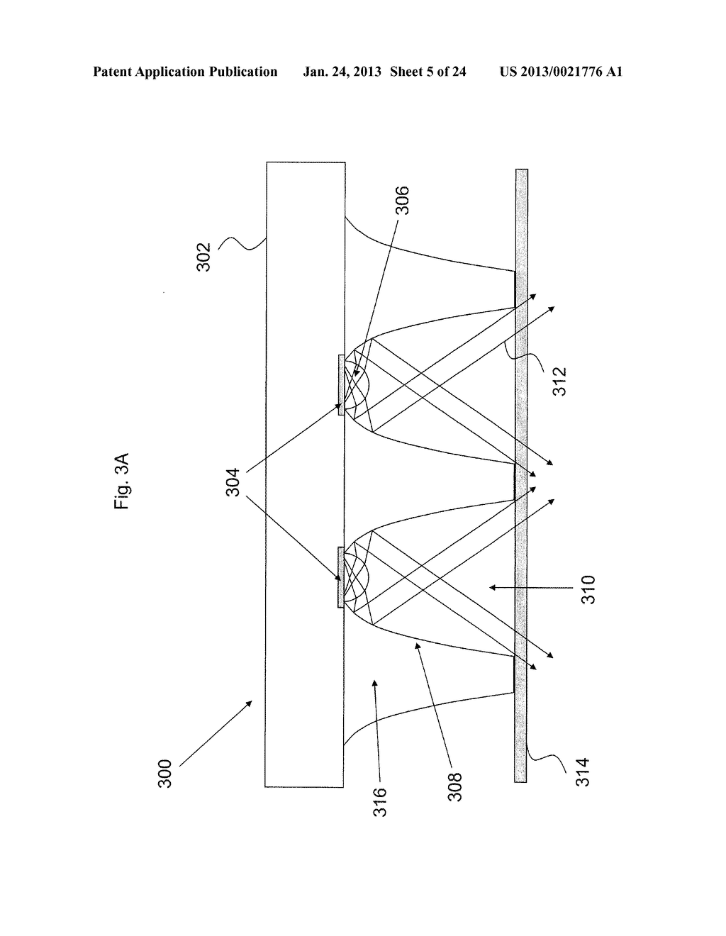 LED LIGHTING SYSTEMS WITH PHOSPHOR SUBASSEMBLIES, AND/OR METHODS OF MAKING     THE SAME - diagram, schematic, and image 06