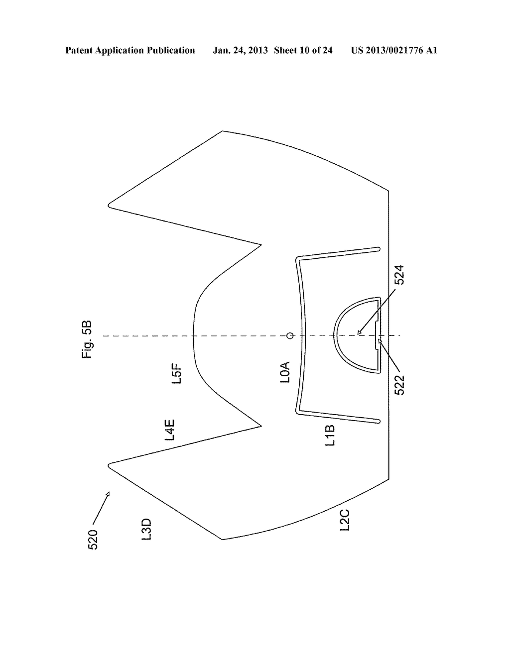 LED LIGHTING SYSTEMS WITH PHOSPHOR SUBASSEMBLIES, AND/OR METHODS OF MAKING     THE SAME - diagram, schematic, and image 11