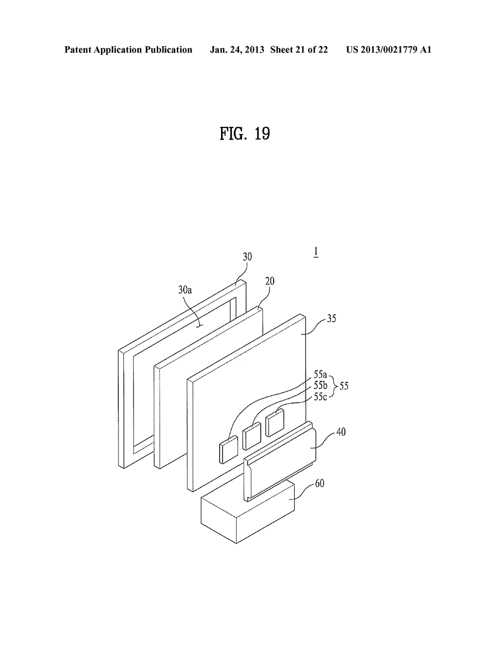 BACKLIGHT UNIT AND DISPLAY APPARATUS USING THE SAME - diagram, schematic, and image 22