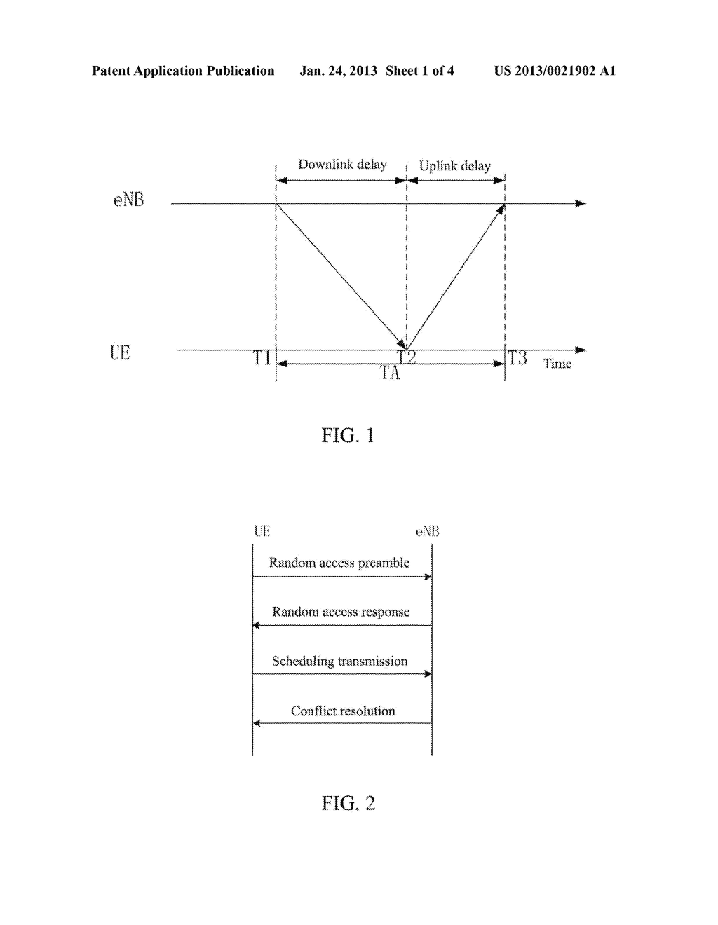 Method for Determining Downlink Time Reference - diagram, schematic, and image 02