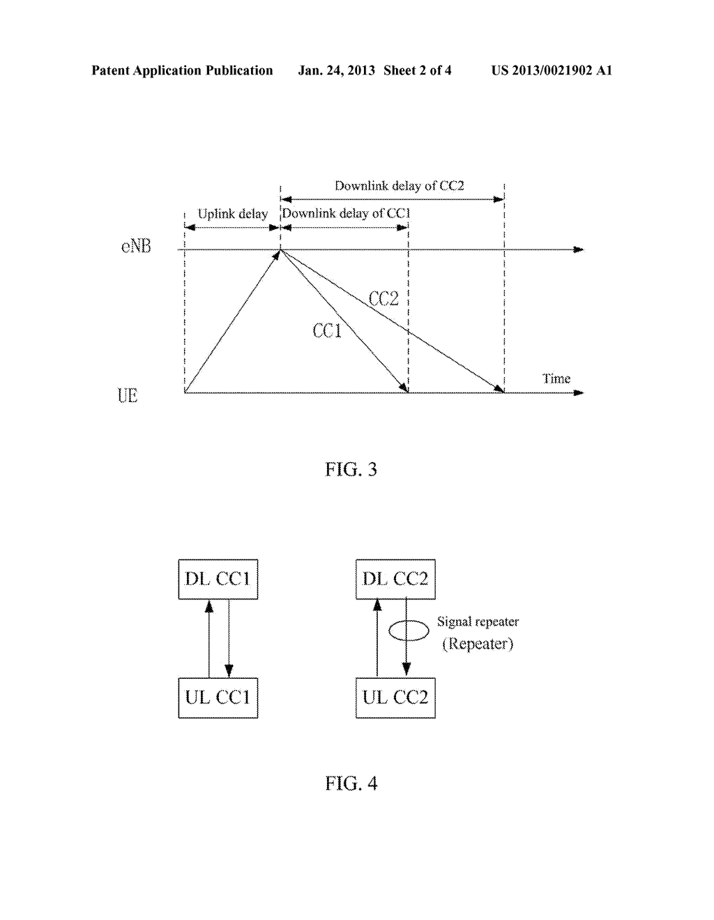 Method for Determining Downlink Time Reference - diagram, schematic, and image 03