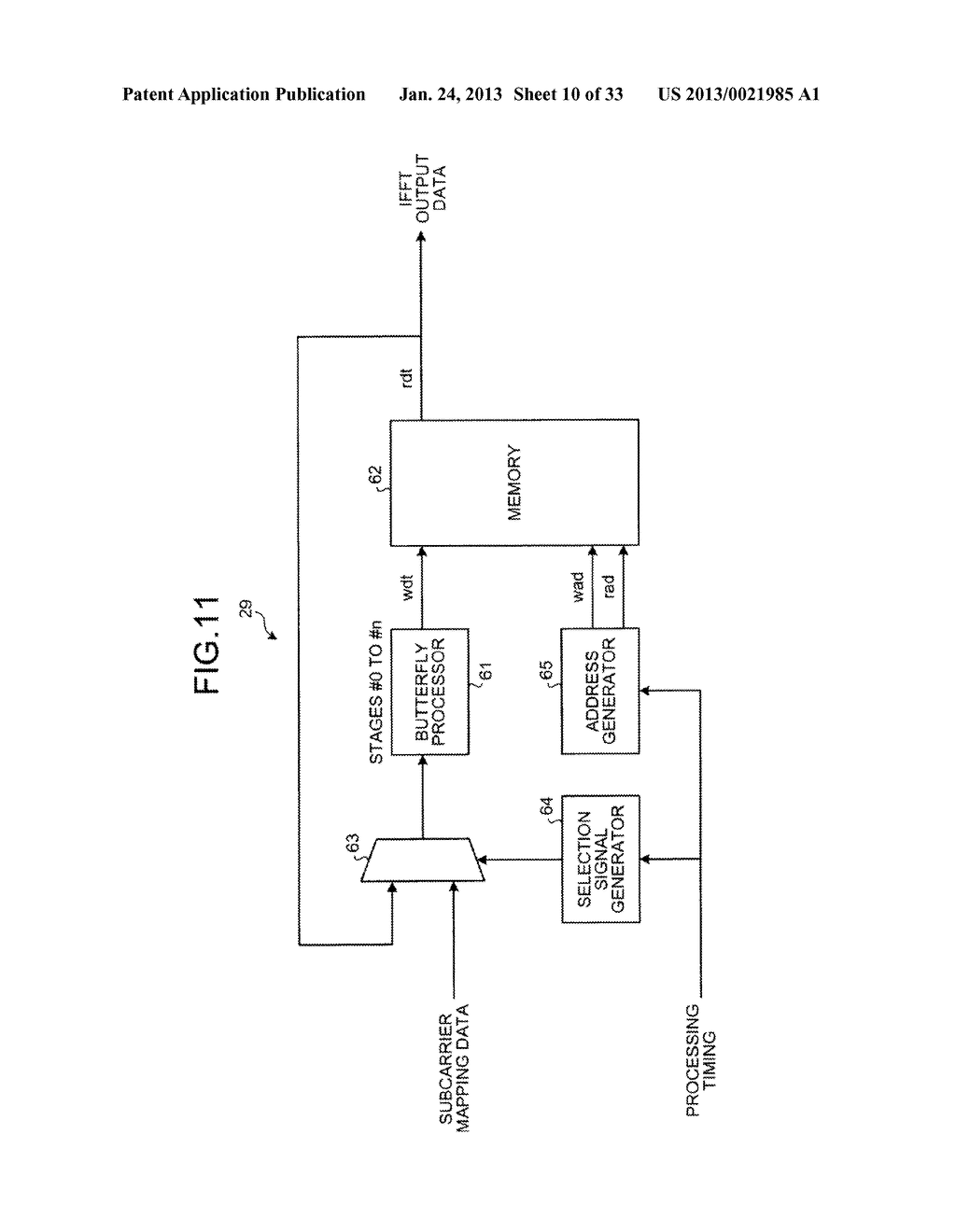 RADIO COMMUNICATION APPARATUS AND RADIO COMMUNICATION METHOD - diagram, schematic, and image 11