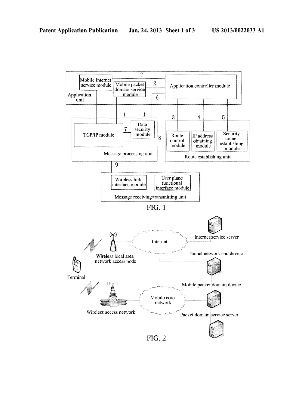 METHOD AND TERMINAL FOR ACCESS CONTROL OF NETWORK SERVICE - diagram, schematic, and image 02