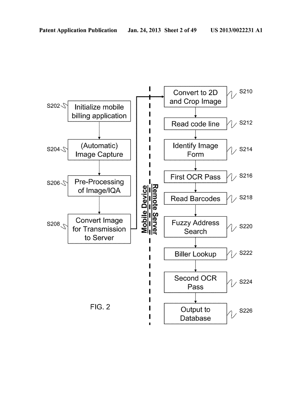 SYSTEMS AND METHODS FOR MOBILE IMAGE CAPTURE AND REMITTANCE PROCESSING - diagram, schematic, and image 03