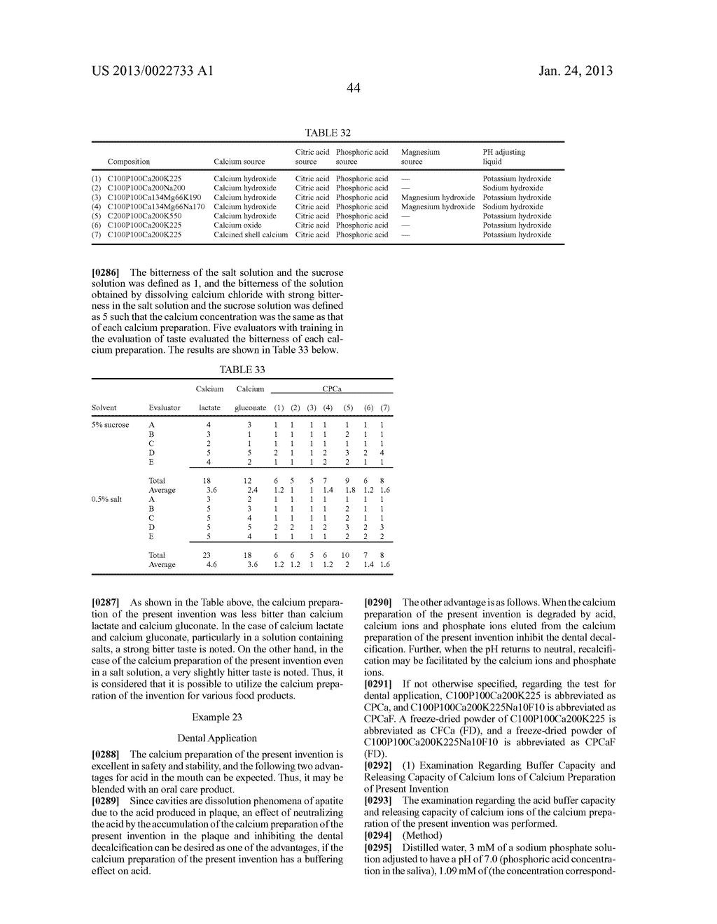 CALCIUM PREPARATION AND METHOD OF PRODUCTION THEREOF - diagram, schematic, and image 76