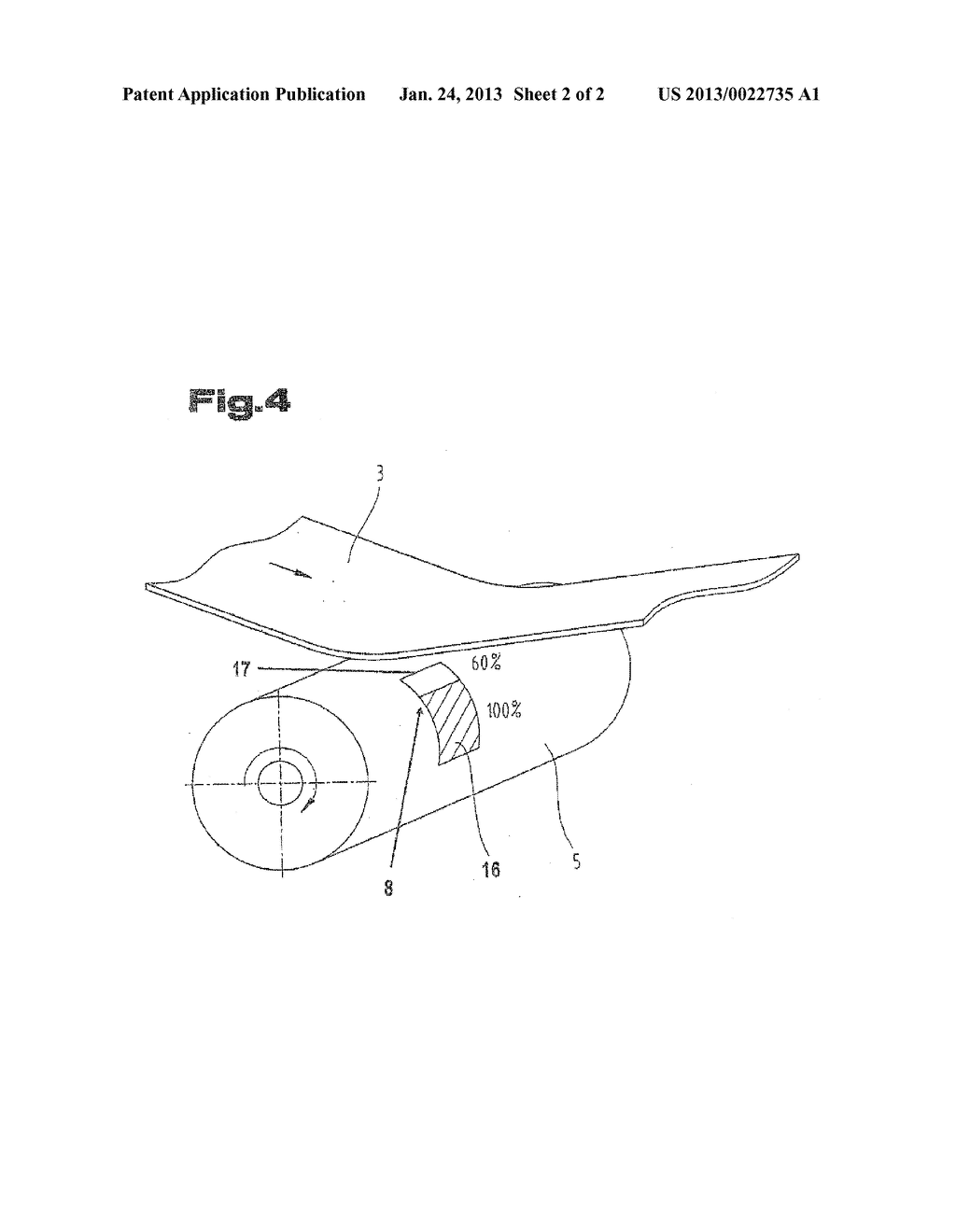 METHOD FOR PRODUCING A BAND-SHAPED PLASTIC FILM - diagram, schematic, and image 03