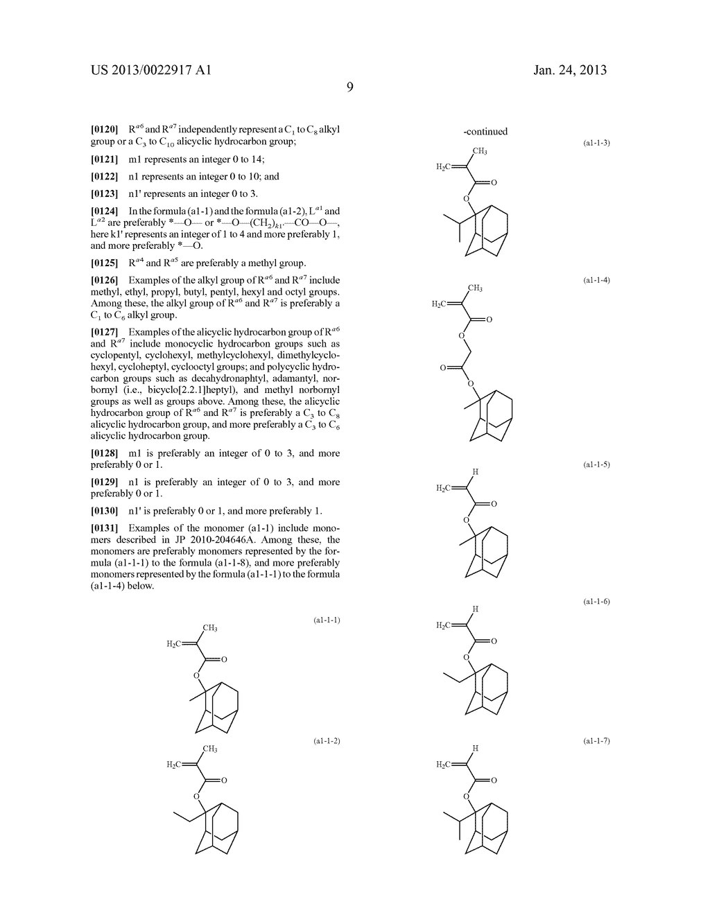 RESIST COMPOSITION AND METHOD FOR PRODUCING RESIST PATTERN - diagram, schematic, and image 10
