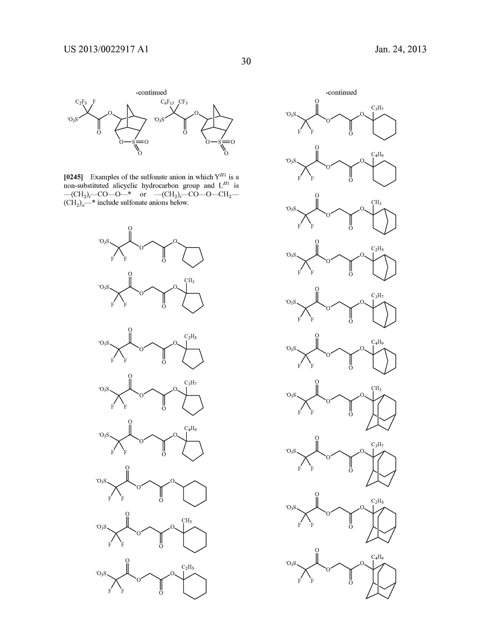 RESIST COMPOSITION AND METHOD FOR PRODUCING RESIST PATTERN - diagram, schematic, and image 31