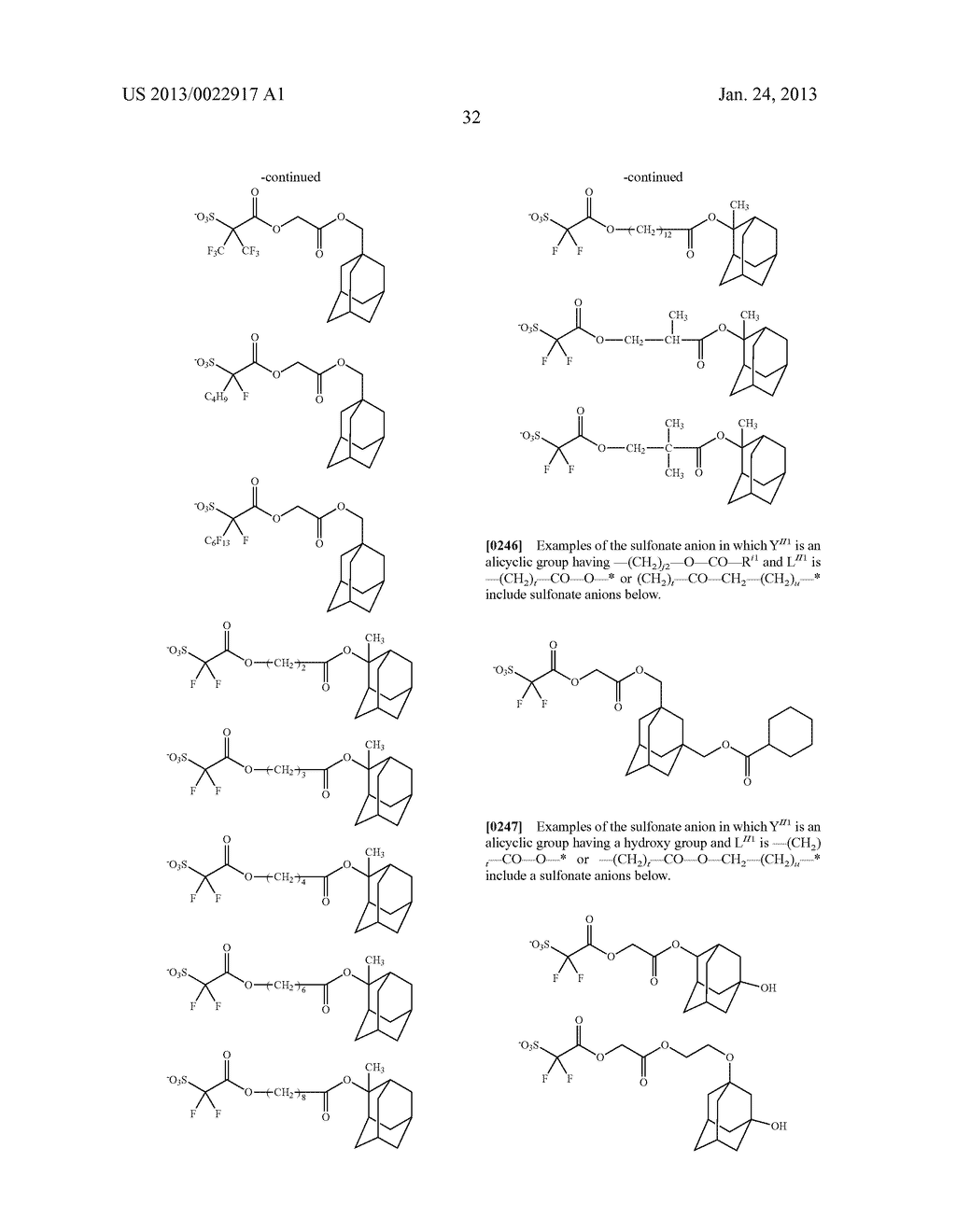 RESIST COMPOSITION AND METHOD FOR PRODUCING RESIST PATTERN - diagram, schematic, and image 33