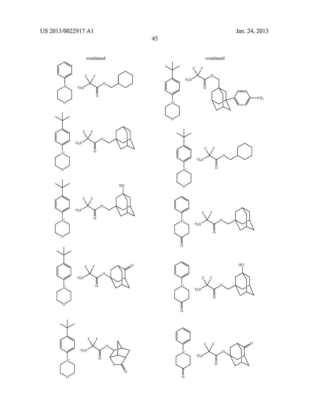 RESIST COMPOSITION AND METHOD FOR PRODUCING RESIST PATTERN - diagram, schematic, and image 46