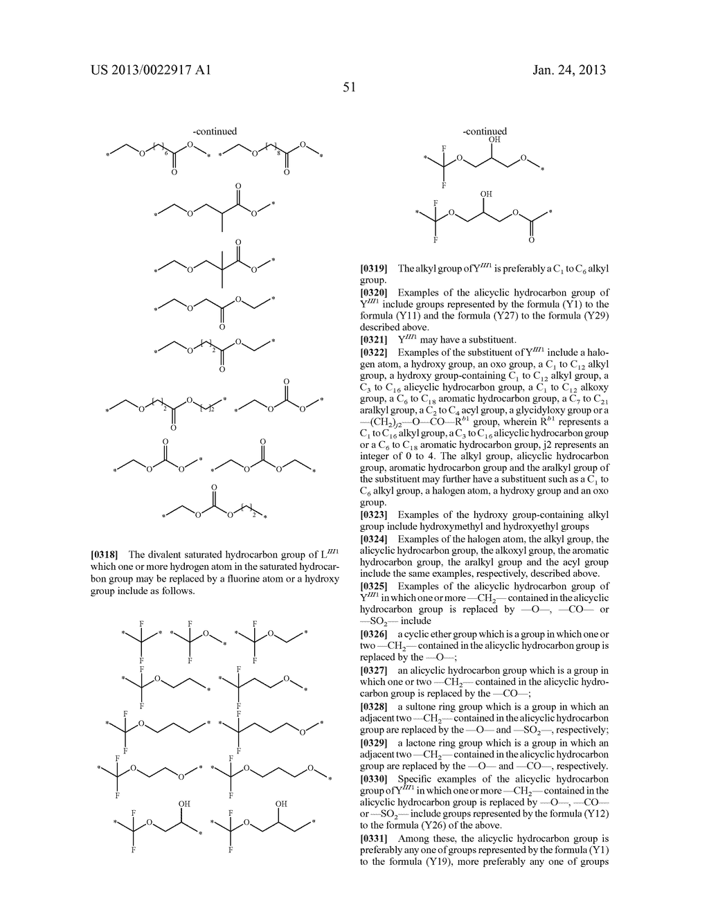 RESIST COMPOSITION AND METHOD FOR PRODUCING RESIST PATTERN - diagram, schematic, and image 52