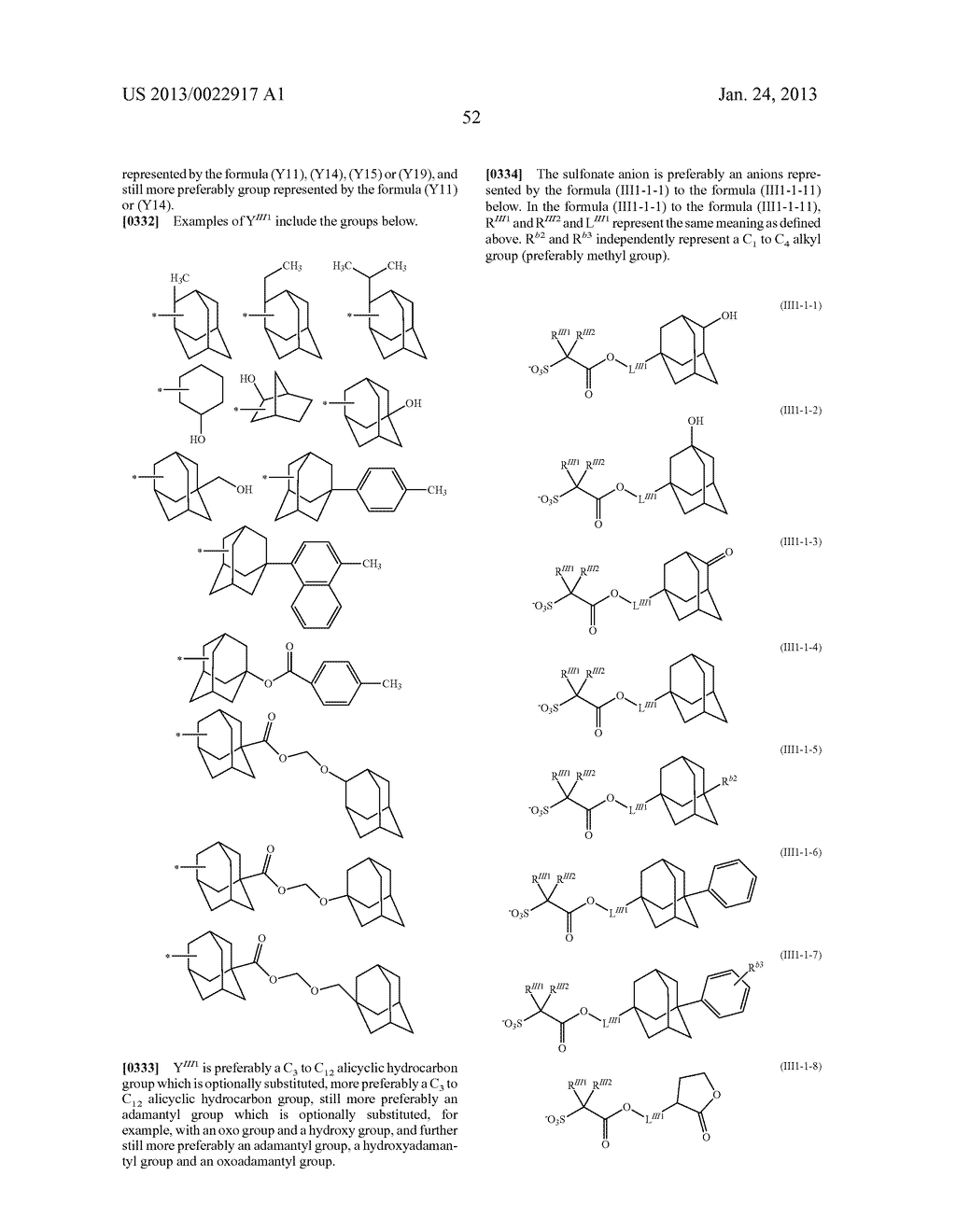 RESIST COMPOSITION AND METHOD FOR PRODUCING RESIST PATTERN - diagram, schematic, and image 53