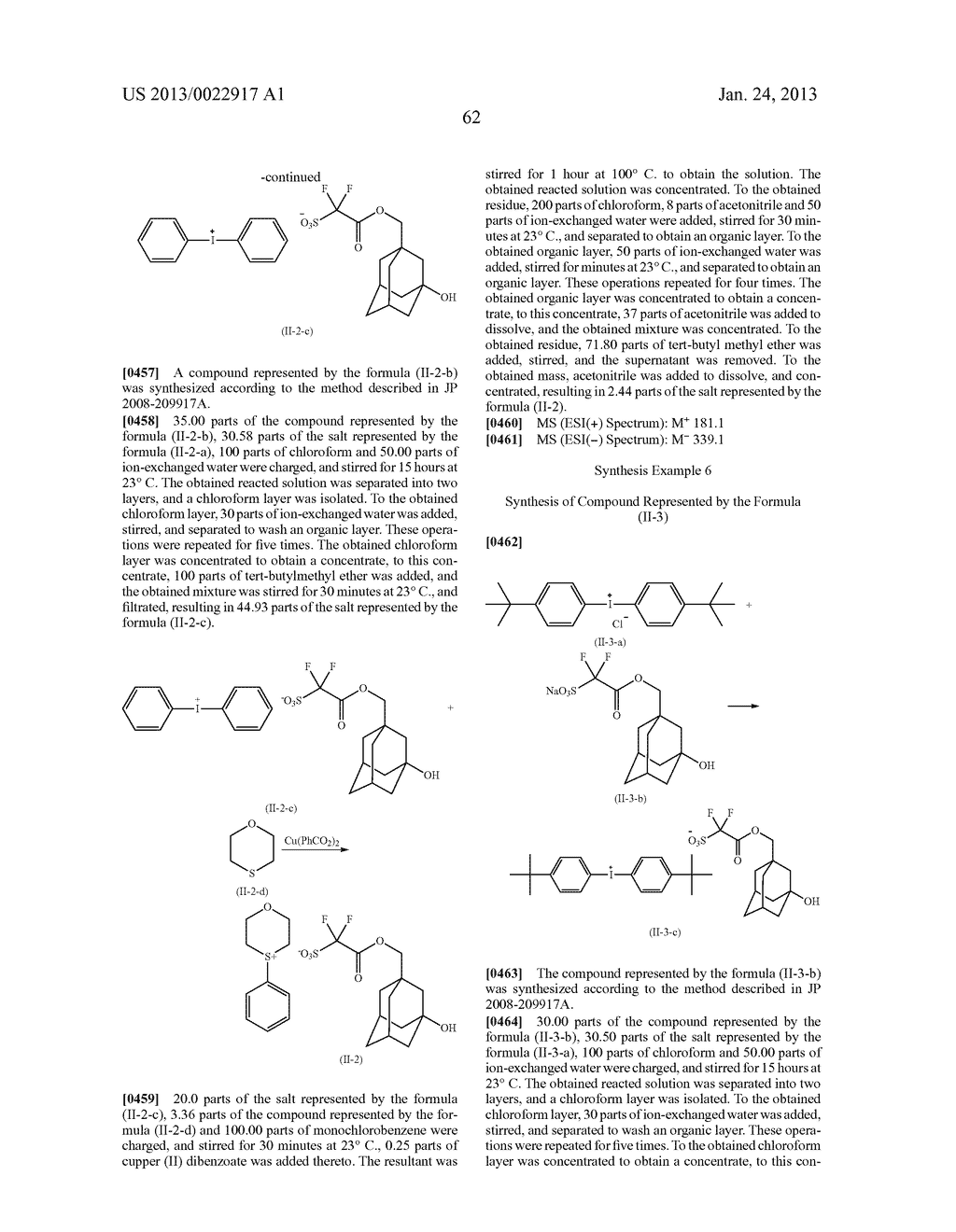 RESIST COMPOSITION AND METHOD FOR PRODUCING RESIST PATTERN - diagram, schematic, and image 63