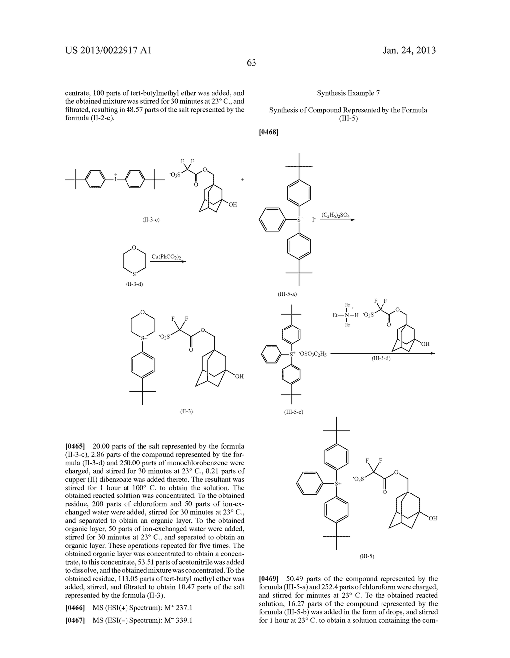 RESIST COMPOSITION AND METHOD FOR PRODUCING RESIST PATTERN - diagram, schematic, and image 64