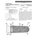 POROUS IMPLANT WITH NON-POROUS THREADS diagram and image
