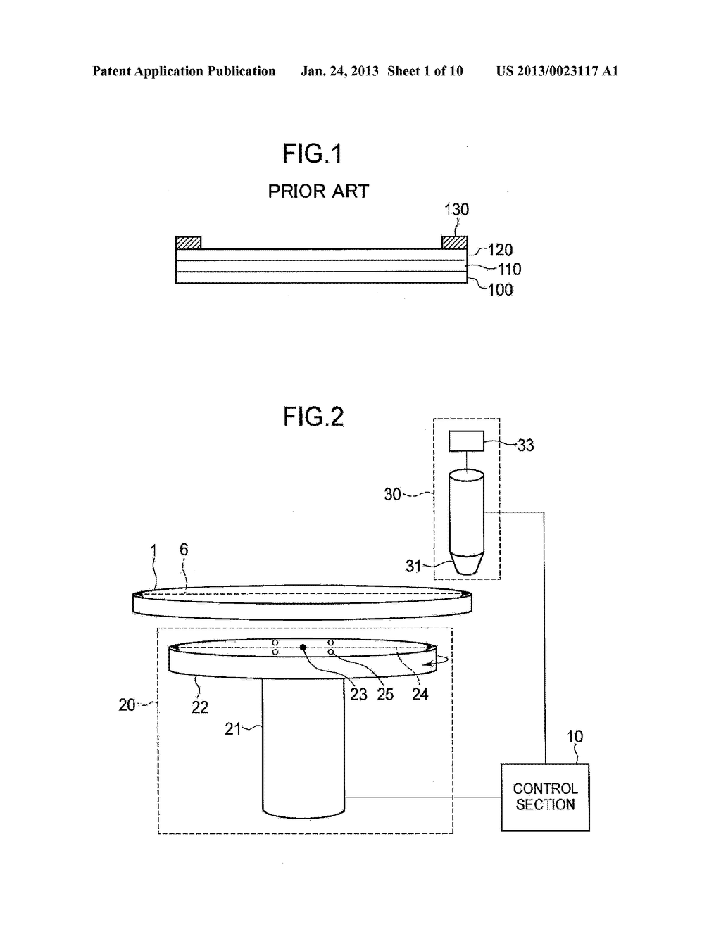 SEMICONDUCTOR DEVICE MANUFACTURING METHOD AND SEMICONDUCTOR DEVICE     MANUFACTURING APPARATUS - diagram, schematic, and image 02