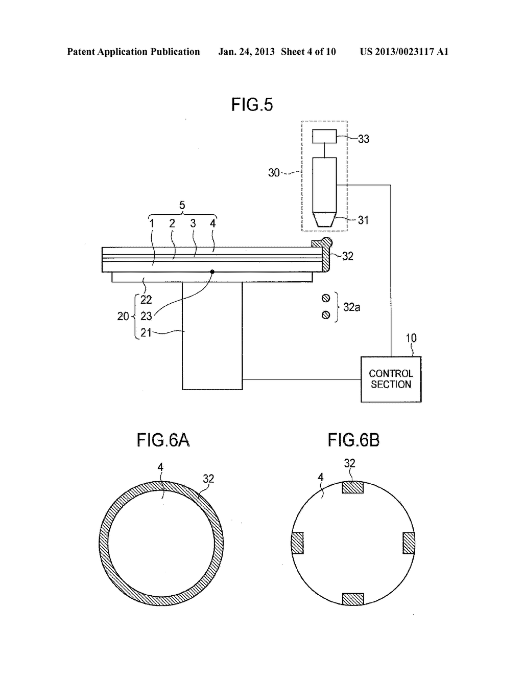 SEMICONDUCTOR DEVICE MANUFACTURING METHOD AND SEMICONDUCTOR DEVICE     MANUFACTURING APPARATUS - diagram, schematic, and image 05