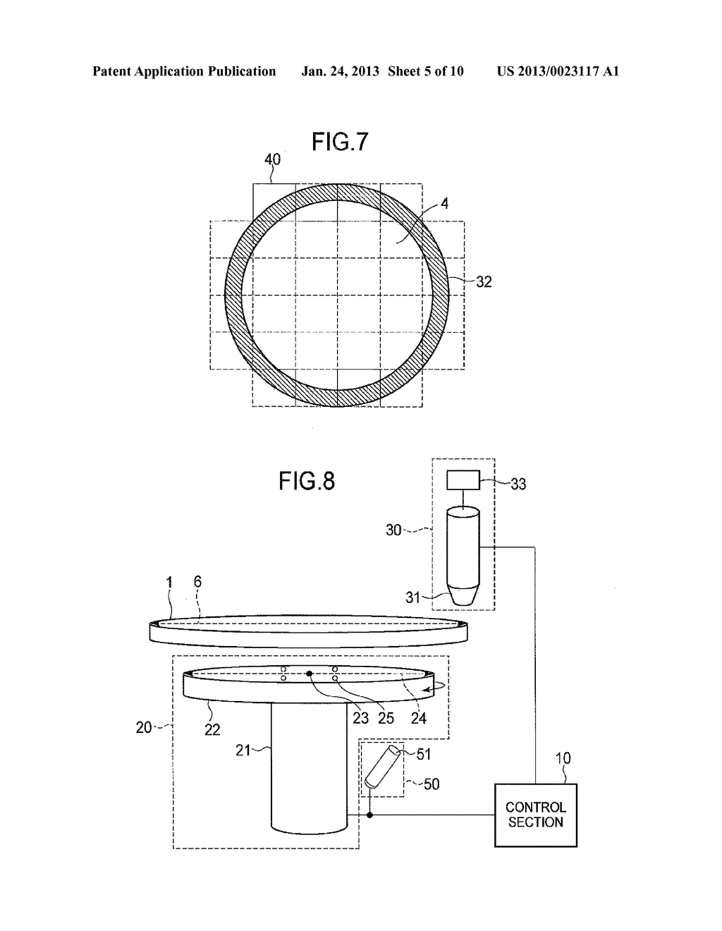 SEMICONDUCTOR DEVICE MANUFACTURING METHOD AND SEMICONDUCTOR DEVICE     MANUFACTURING APPARATUS - diagram, schematic, and image 06