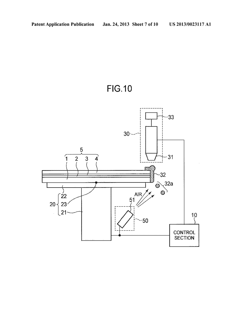 SEMICONDUCTOR DEVICE MANUFACTURING METHOD AND SEMICONDUCTOR DEVICE     MANUFACTURING APPARATUS - diagram, schematic, and image 08
