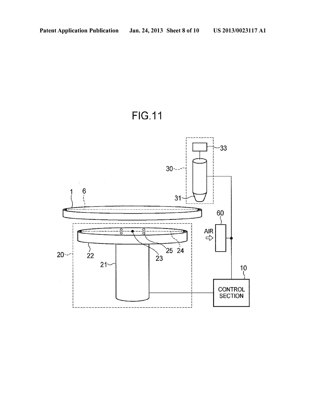 SEMICONDUCTOR DEVICE MANUFACTURING METHOD AND SEMICONDUCTOR DEVICE     MANUFACTURING APPARATUS - diagram, schematic, and image 09