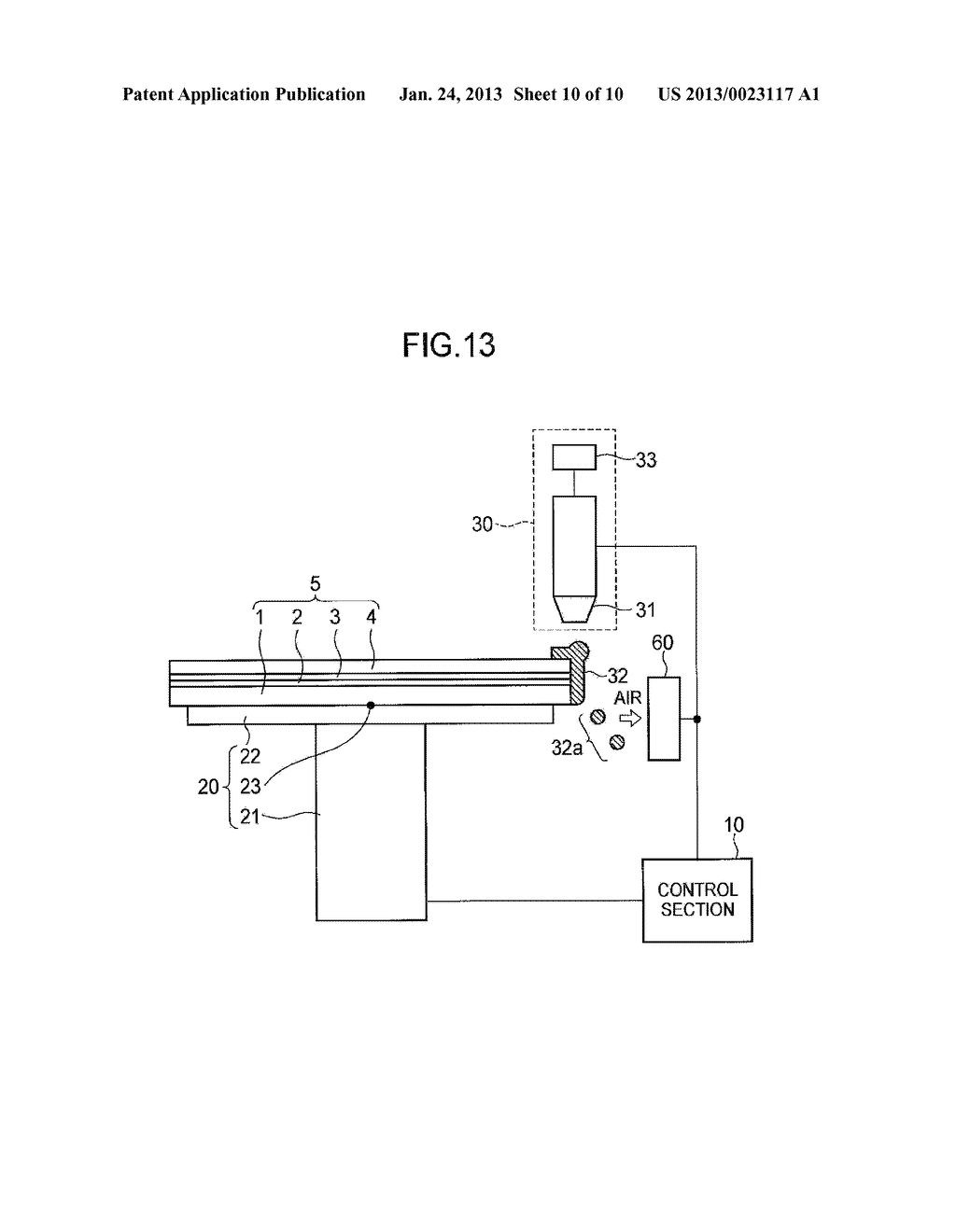 SEMICONDUCTOR DEVICE MANUFACTURING METHOD AND SEMICONDUCTOR DEVICE     MANUFACTURING APPARATUS - diagram, schematic, and image 11