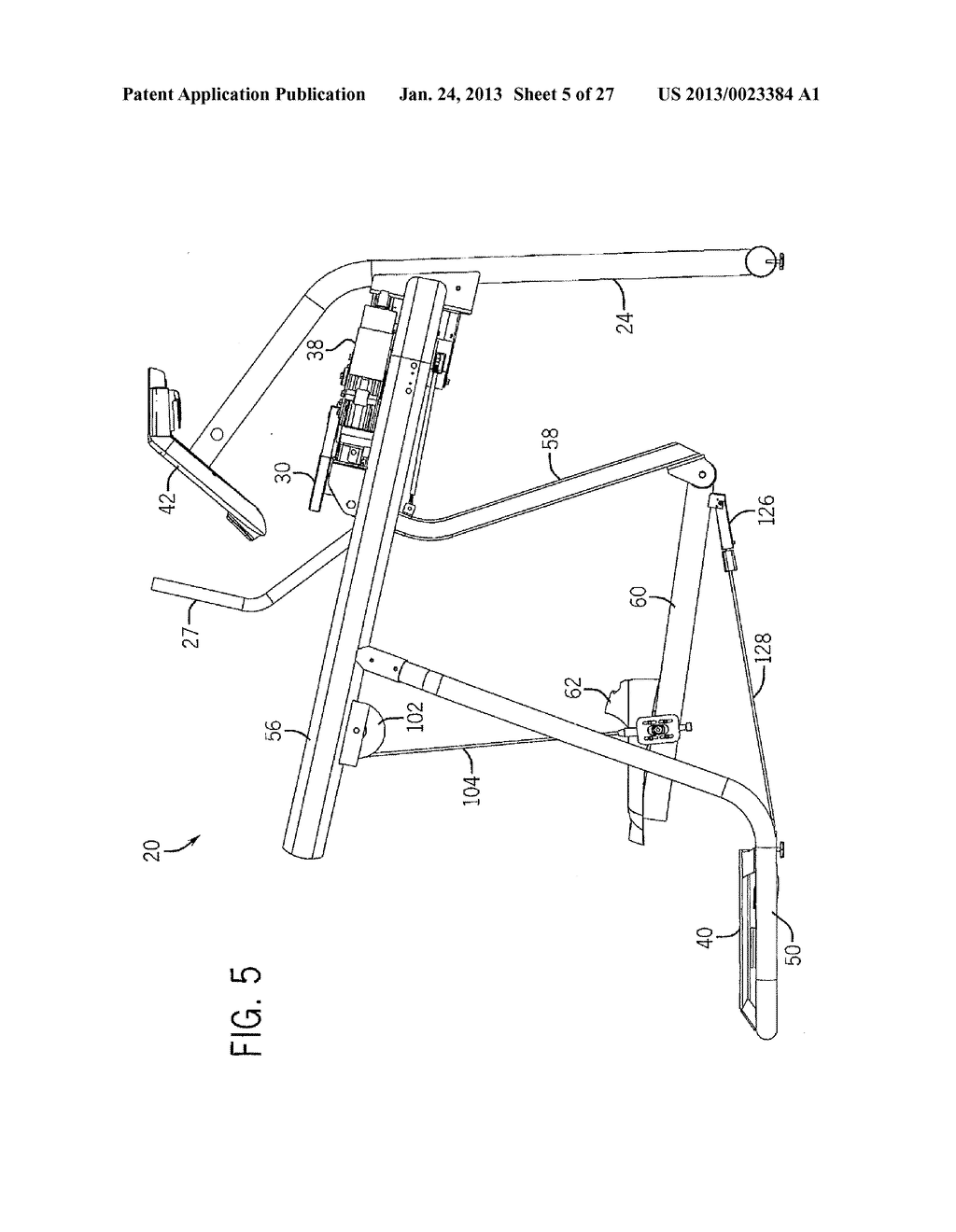 EXERCISE APPARATUS WITH FLEXIBLE ELEMENT - diagram, schematic, and image 06