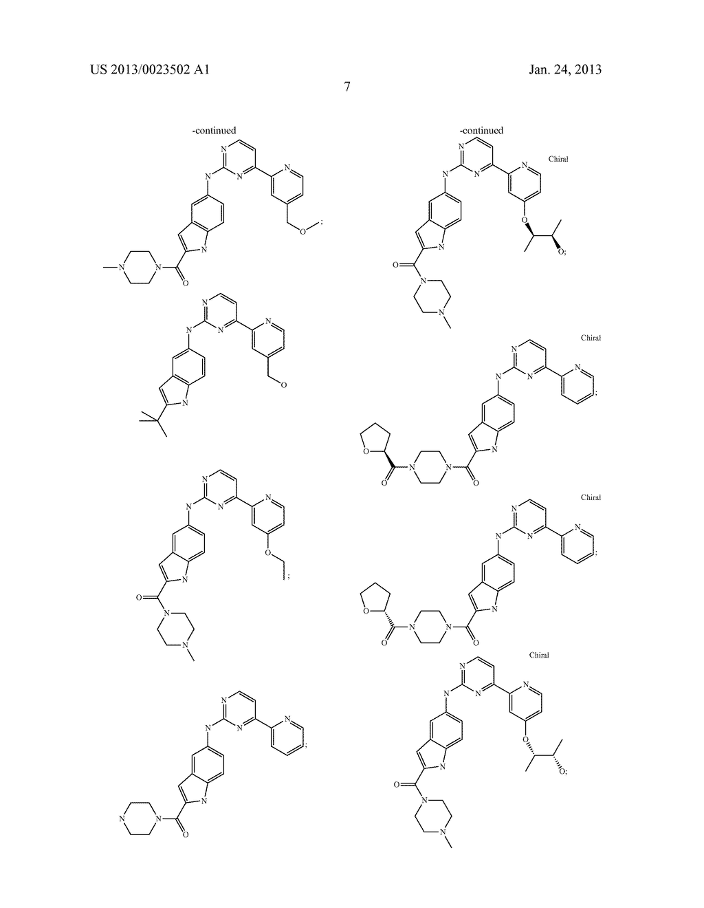 SUBSTITUTED PYRIDINYL-PYRIMIDINES AND THEIR USE AS MEDICAMENTS - diagram, schematic, and image 08