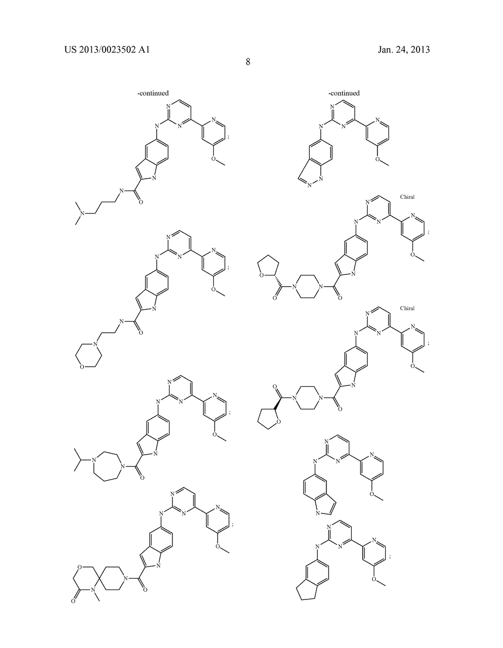 SUBSTITUTED PYRIDINYL-PYRIMIDINES AND THEIR USE AS MEDICAMENTS - diagram, schematic, and image 09
