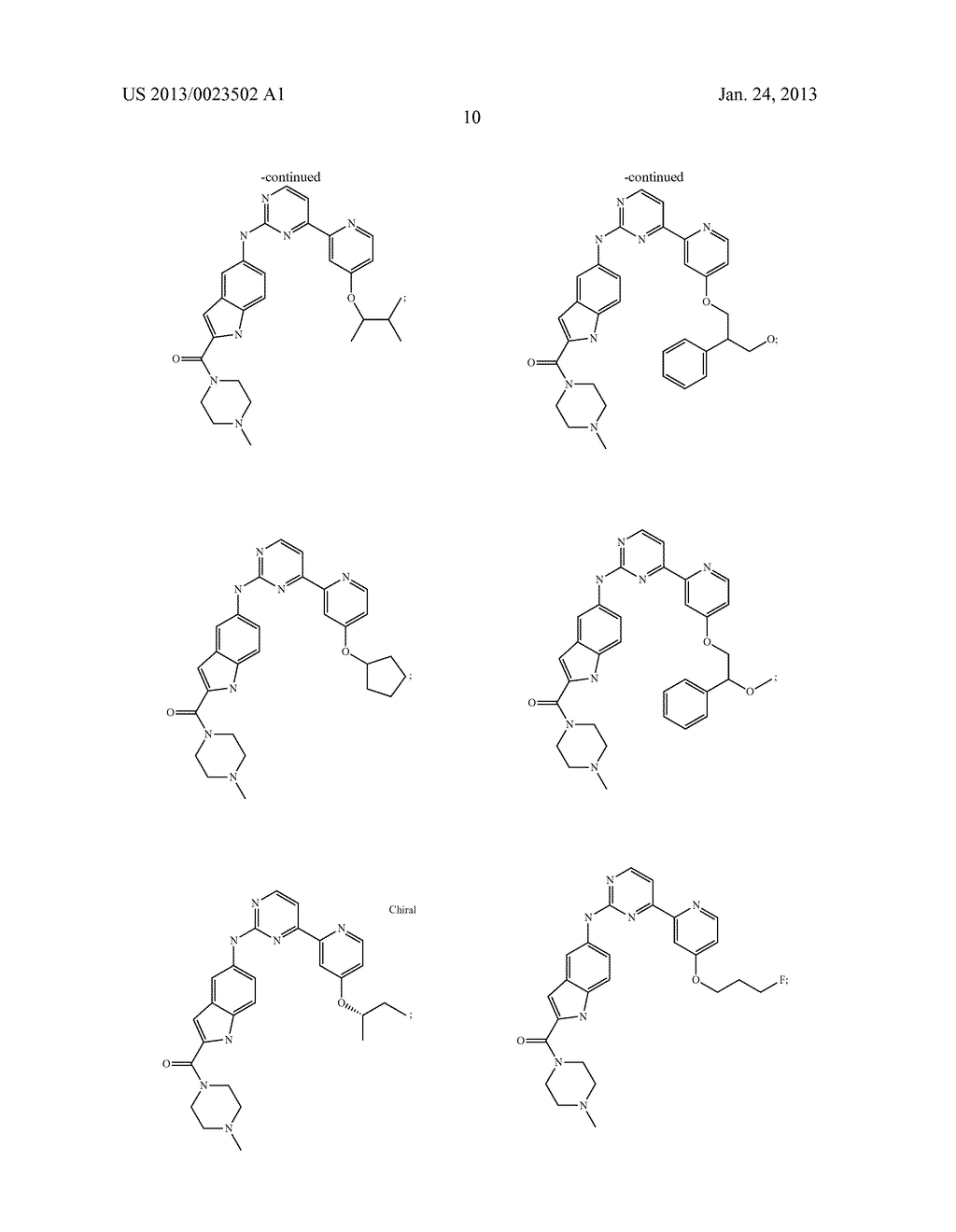 SUBSTITUTED PYRIDINYL-PYRIMIDINES AND THEIR USE AS MEDICAMENTS - diagram, schematic, and image 11