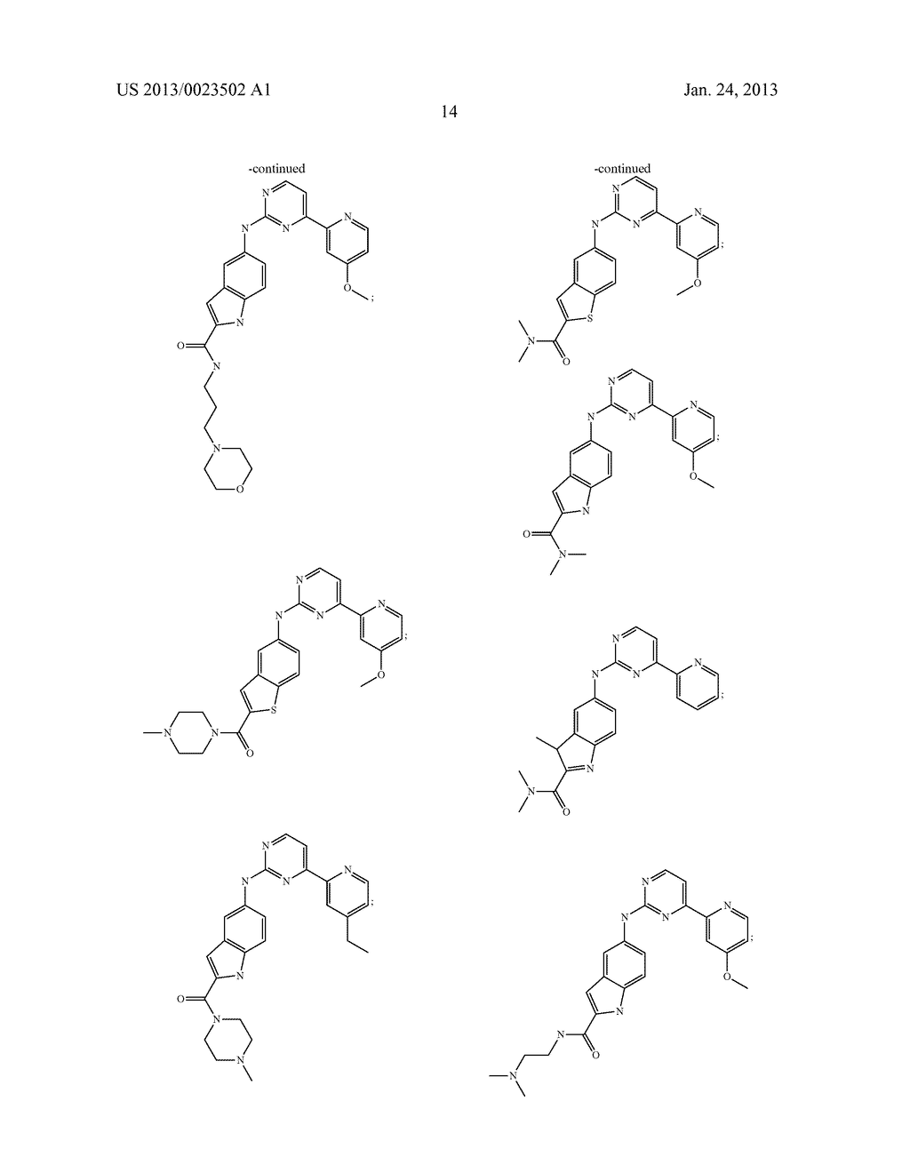 SUBSTITUTED PYRIDINYL-PYRIMIDINES AND THEIR USE AS MEDICAMENTS - diagram, schematic, and image 15