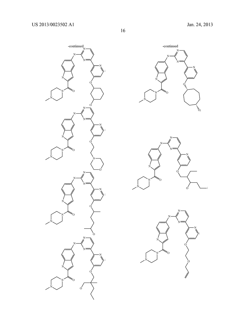 SUBSTITUTED PYRIDINYL-PYRIMIDINES AND THEIR USE AS MEDICAMENTS - diagram, schematic, and image 17