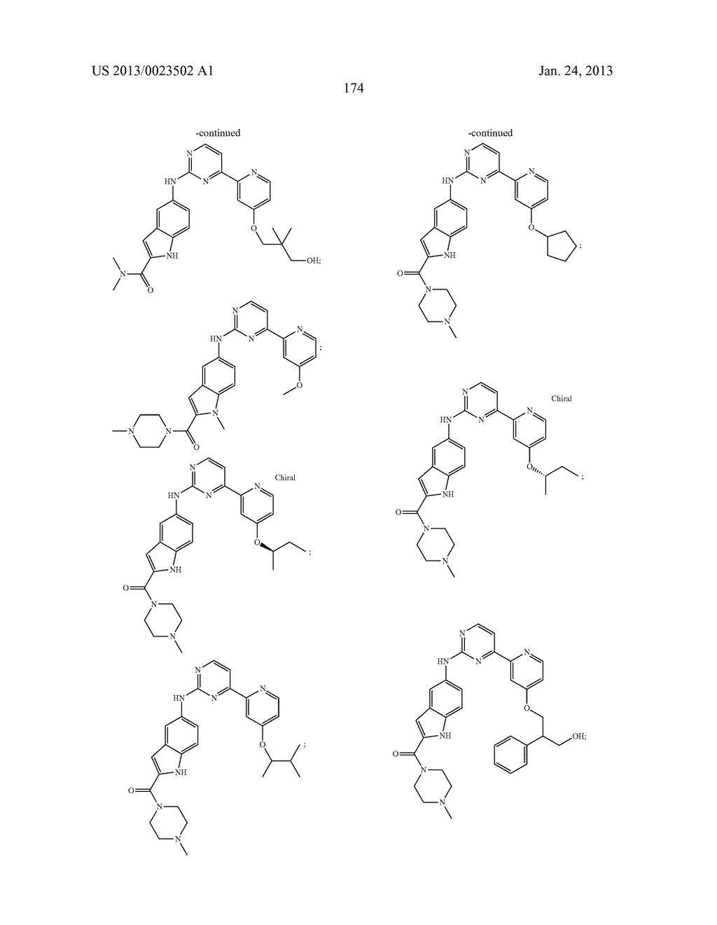 SUBSTITUTED PYRIDINYL-PYRIMIDINES AND THEIR USE AS MEDICAMENTS - diagram, schematic, and image 175