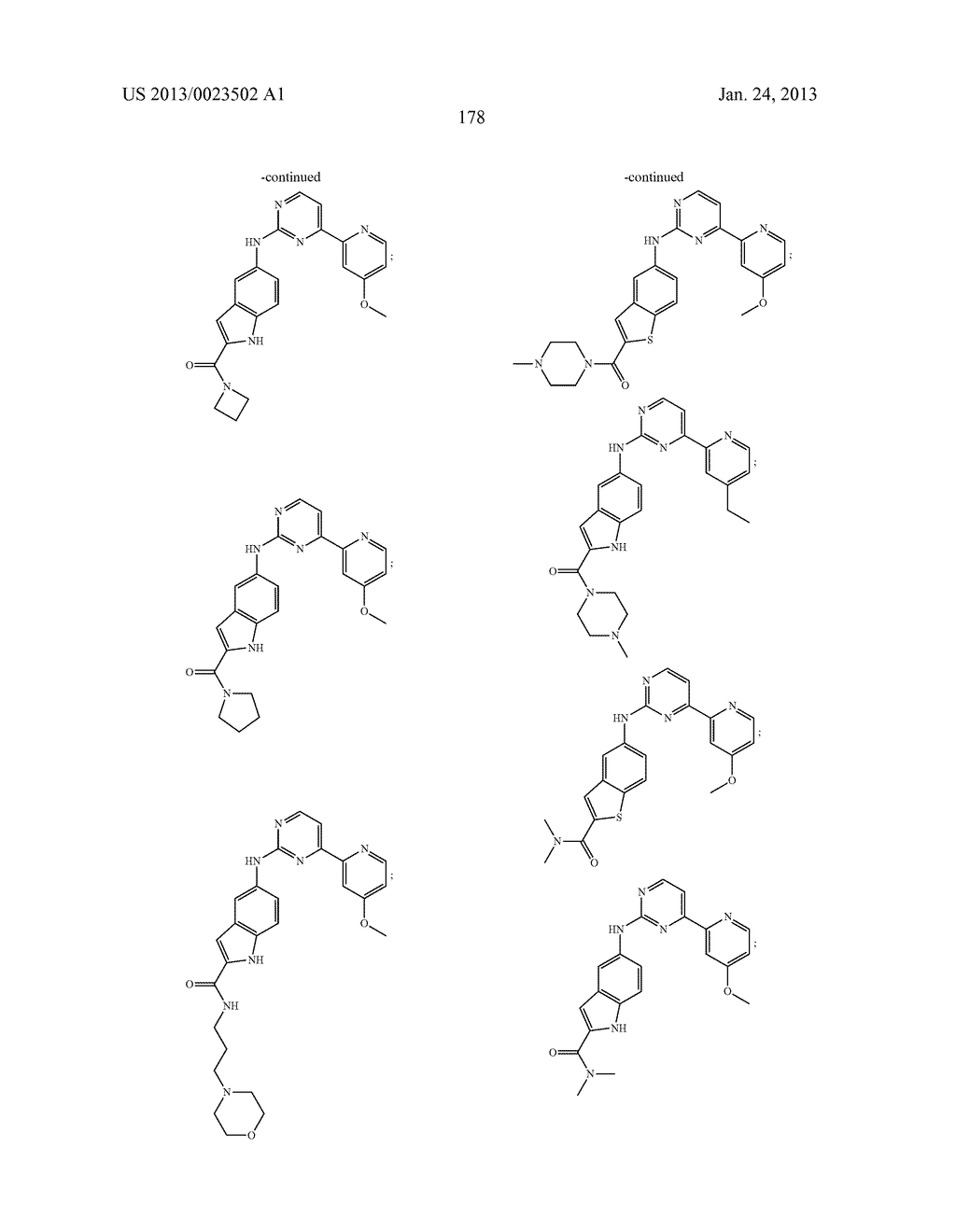 SUBSTITUTED PYRIDINYL-PYRIMIDINES AND THEIR USE AS MEDICAMENTS - diagram, schematic, and image 179