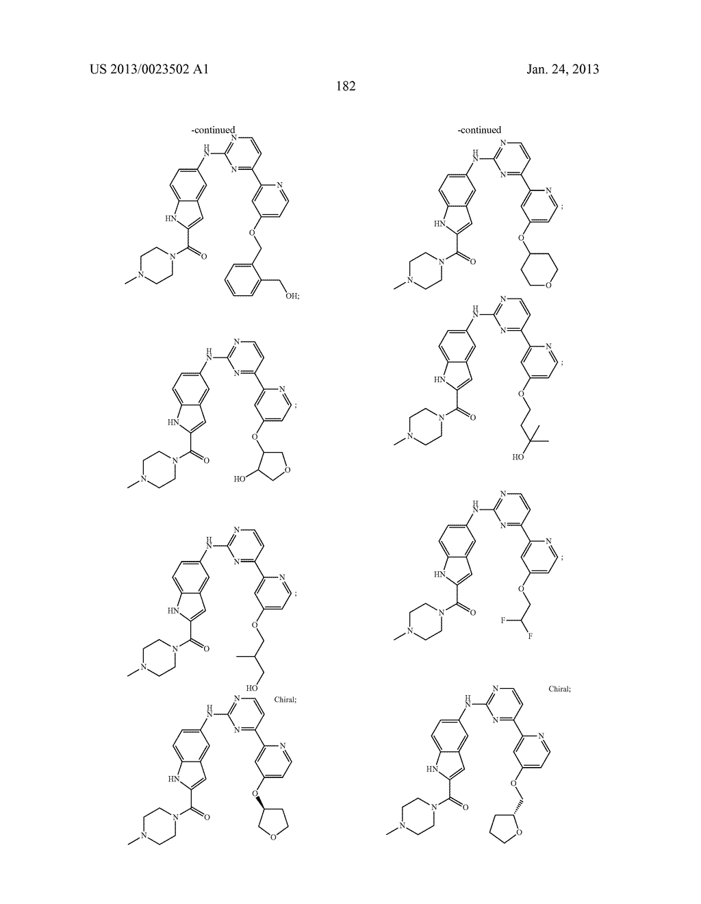 SUBSTITUTED PYRIDINYL-PYRIMIDINES AND THEIR USE AS MEDICAMENTS - diagram, schematic, and image 183