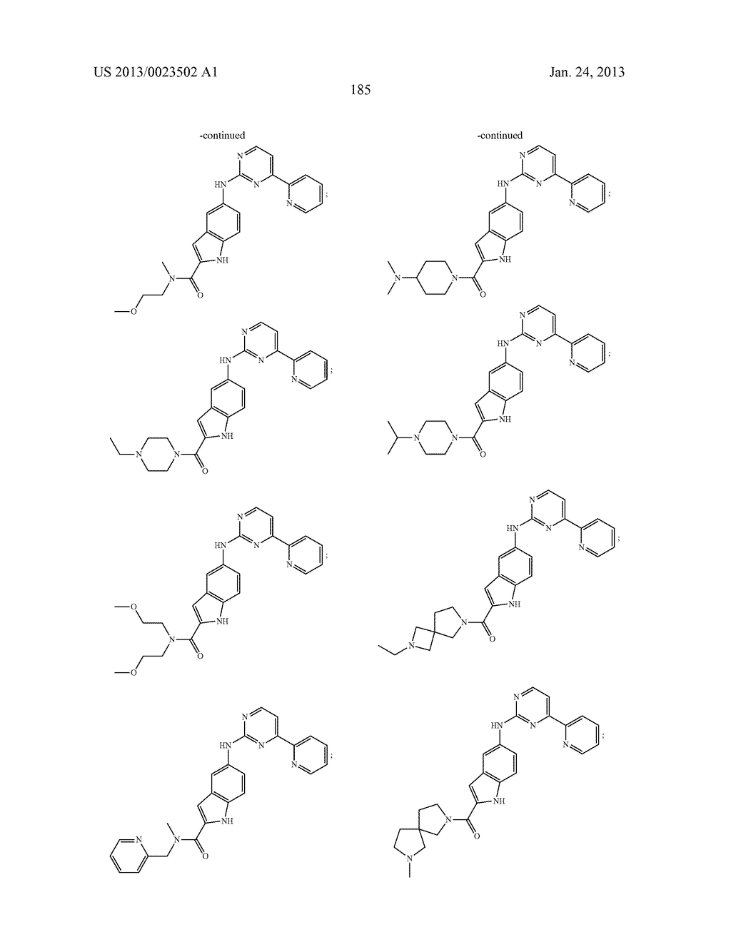 SUBSTITUTED PYRIDINYL-PYRIMIDINES AND THEIR USE AS MEDICAMENTS - diagram, schematic, and image 186