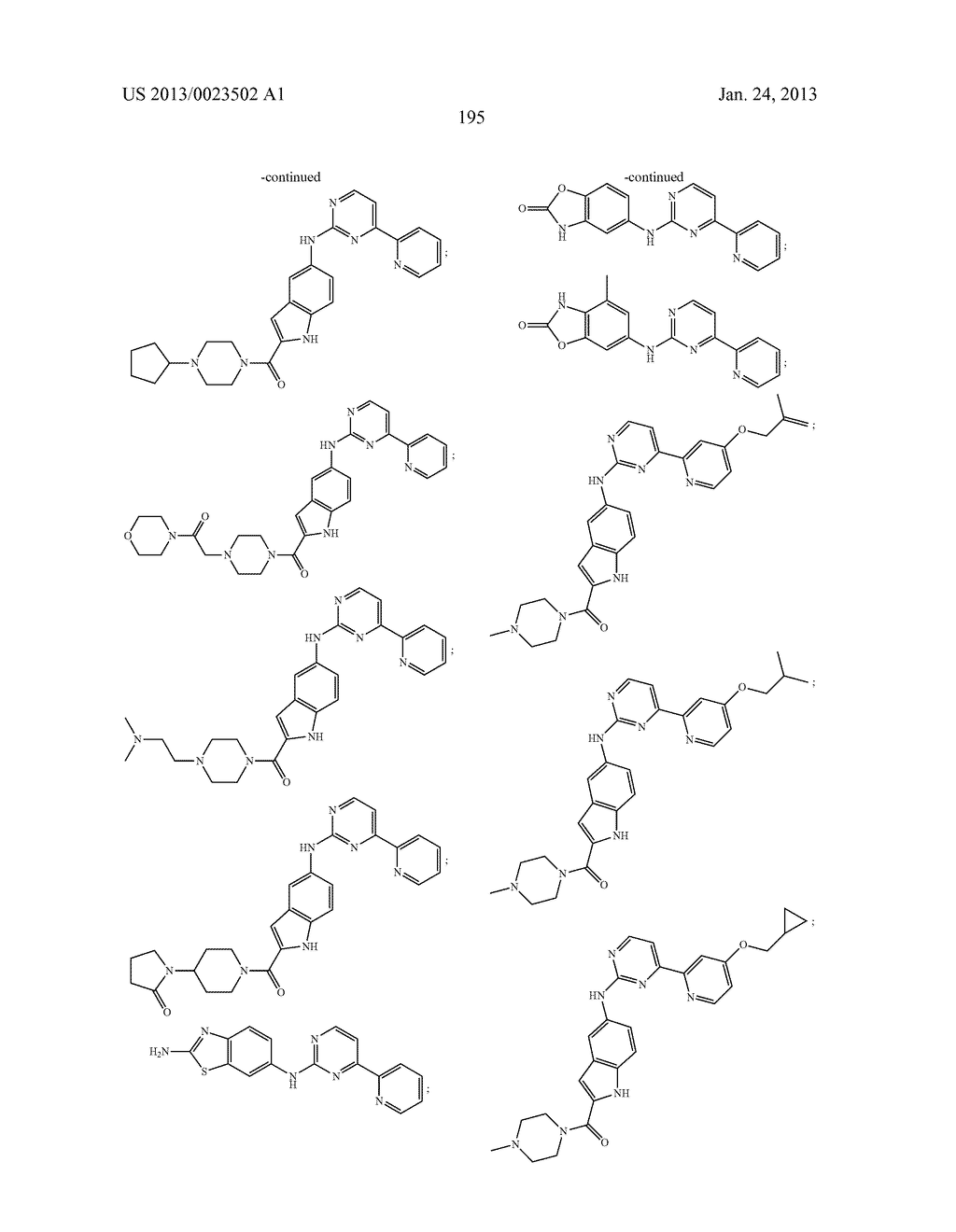 SUBSTITUTED PYRIDINYL-PYRIMIDINES AND THEIR USE AS MEDICAMENTS - diagram, schematic, and image 196