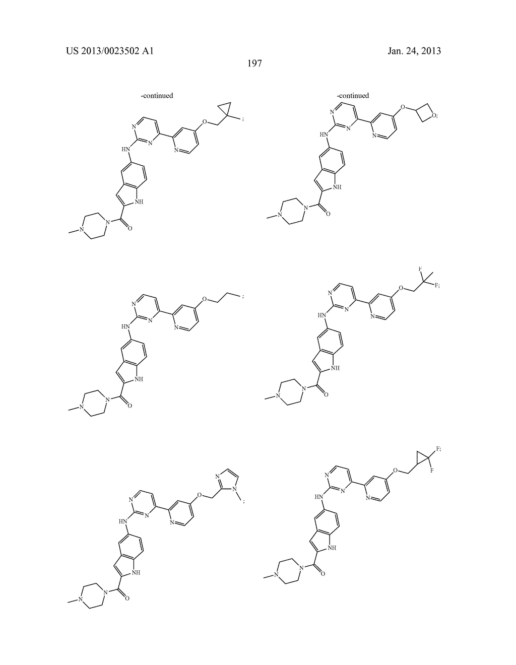 SUBSTITUTED PYRIDINYL-PYRIMIDINES AND THEIR USE AS MEDICAMENTS - diagram, schematic, and image 198