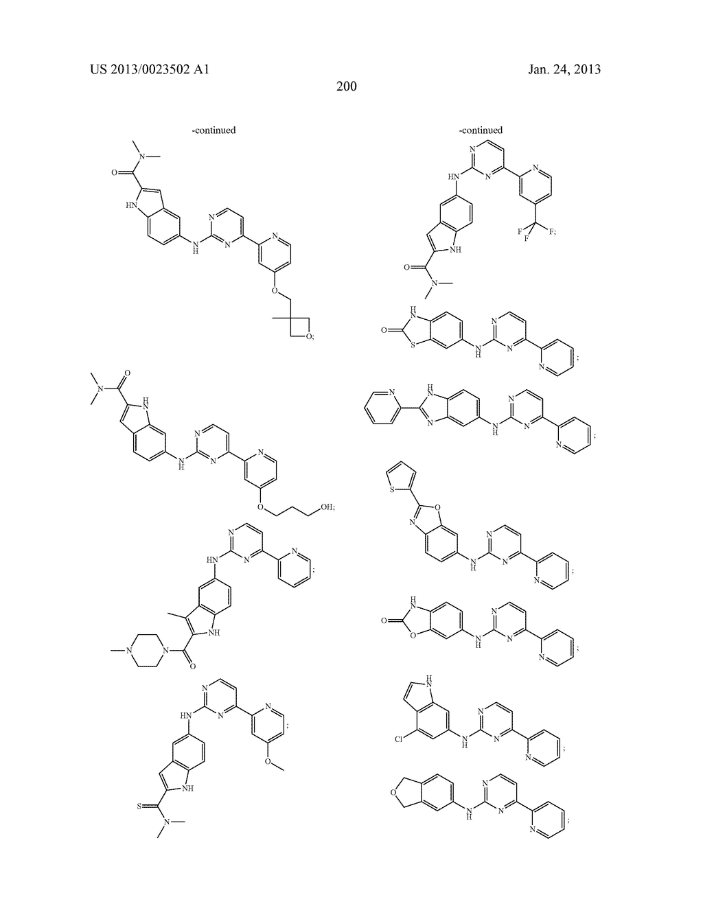 SUBSTITUTED PYRIDINYL-PYRIMIDINES AND THEIR USE AS MEDICAMENTS - diagram, schematic, and image 201