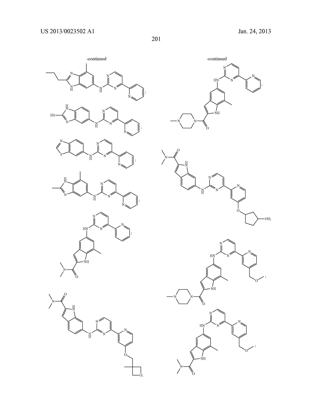 SUBSTITUTED PYRIDINYL-PYRIMIDINES AND THEIR USE AS MEDICAMENTS - diagram, schematic, and image 202