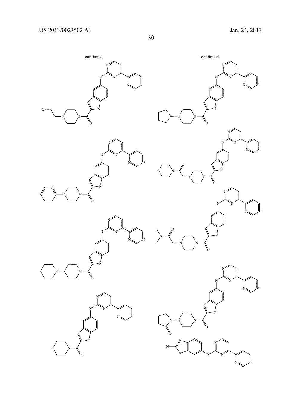 SUBSTITUTED PYRIDINYL-PYRIMIDINES AND THEIR USE AS MEDICAMENTS - diagram, schematic, and image 31