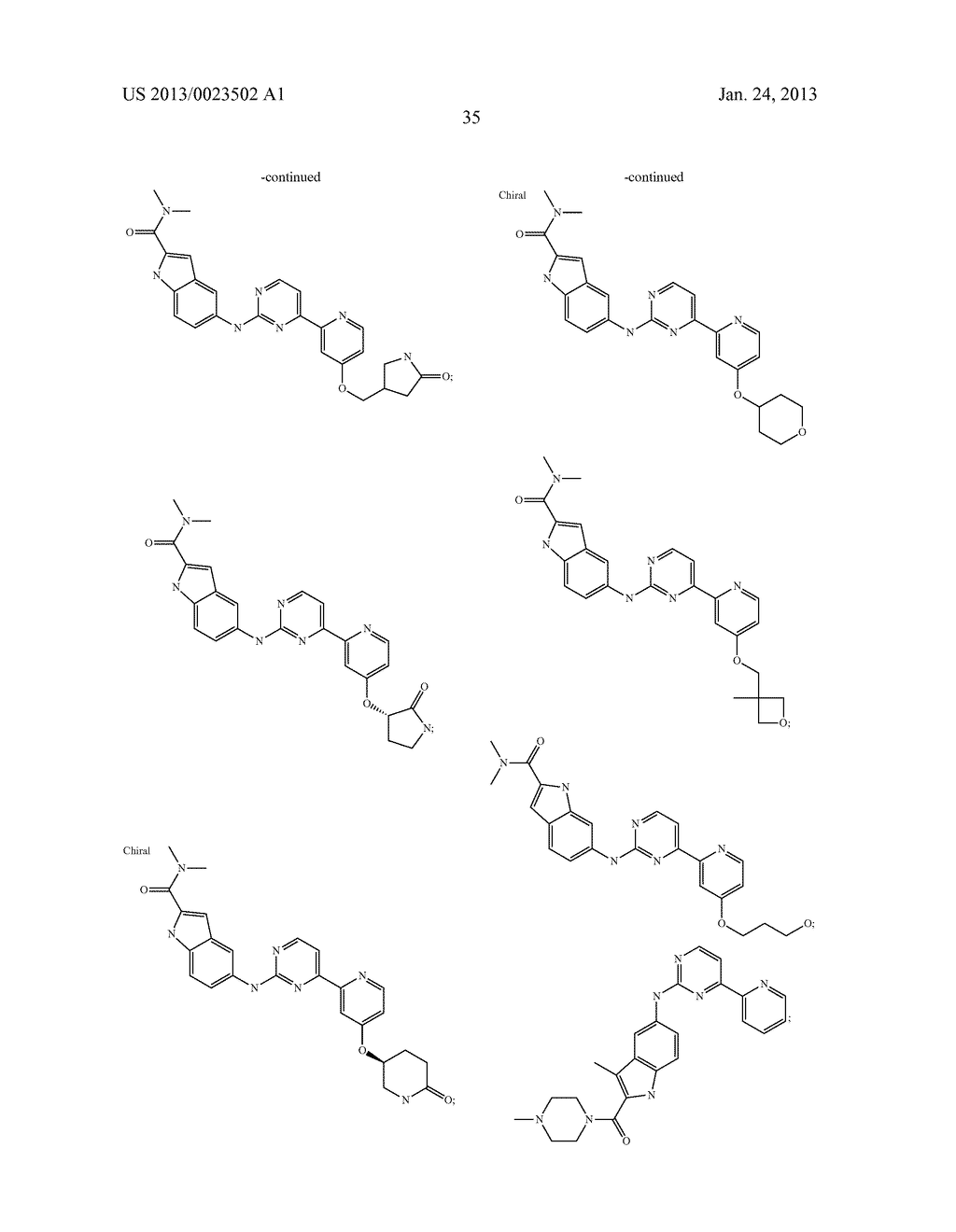 SUBSTITUTED PYRIDINYL-PYRIMIDINES AND THEIR USE AS MEDICAMENTS - diagram, schematic, and image 36