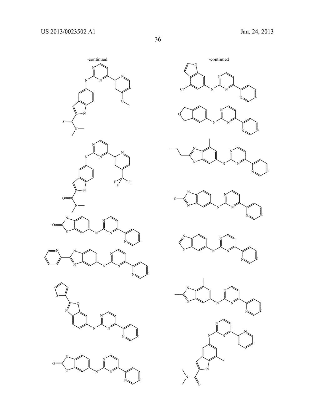 SUBSTITUTED PYRIDINYL-PYRIMIDINES AND THEIR USE AS MEDICAMENTS - diagram, schematic, and image 37