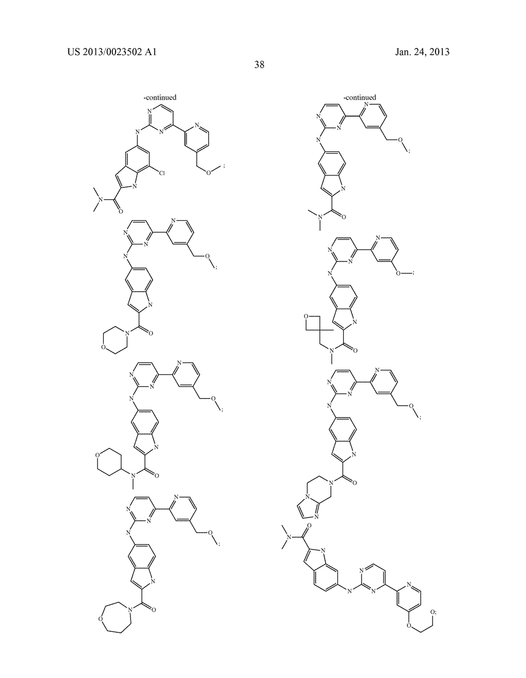 SUBSTITUTED PYRIDINYL-PYRIMIDINES AND THEIR USE AS MEDICAMENTS - diagram, schematic, and image 39