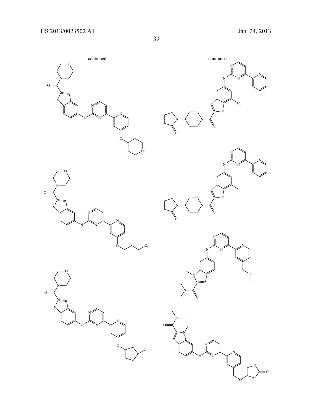 SUBSTITUTED PYRIDINYL-PYRIMIDINES AND THEIR USE AS MEDICAMENTS - diagram, schematic, and image 40