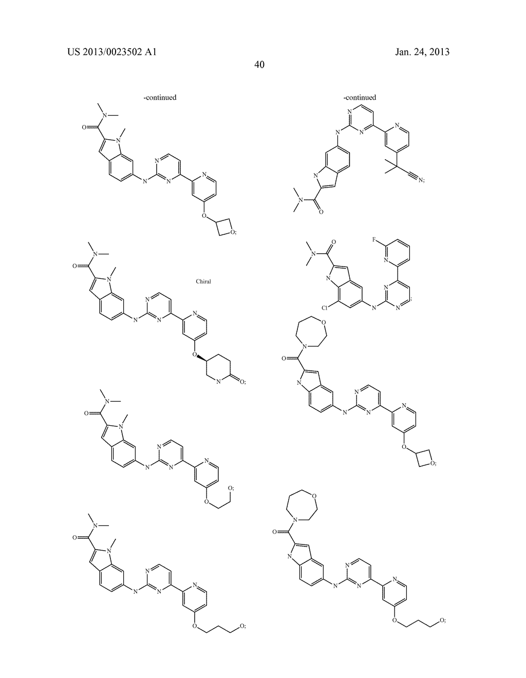 SUBSTITUTED PYRIDINYL-PYRIMIDINES AND THEIR USE AS MEDICAMENTS - diagram, schematic, and image 41
