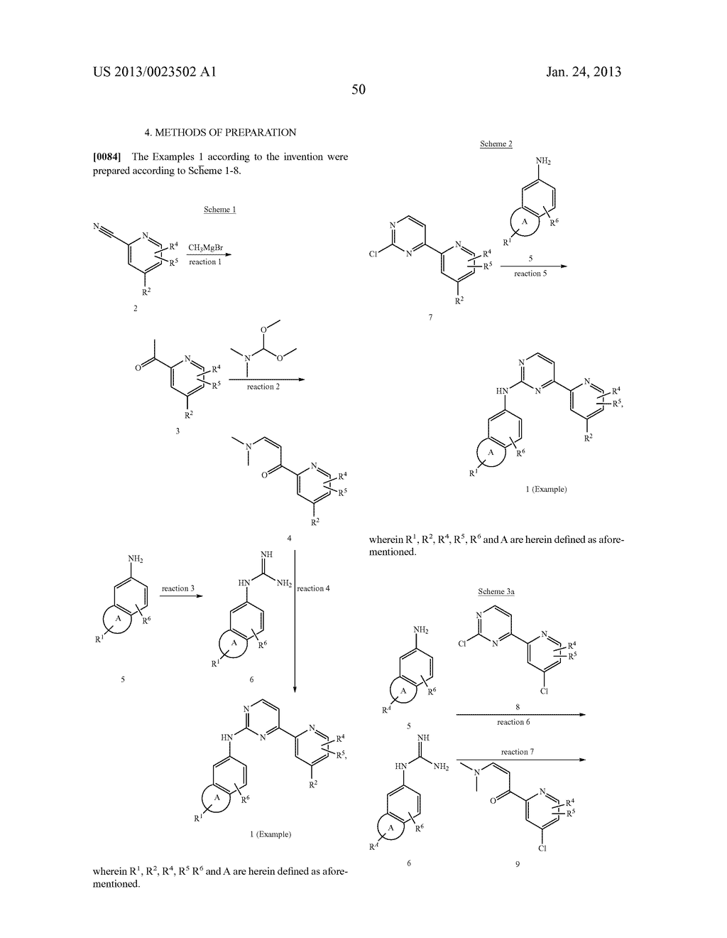 SUBSTITUTED PYRIDINYL-PYRIMIDINES AND THEIR USE AS MEDICAMENTS - diagram, schematic, and image 51